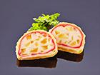 リンゴと豆腐のパイ包み