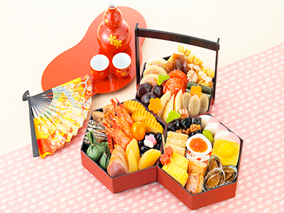 京菜味のむら 八坂 3段32品目のイメージ