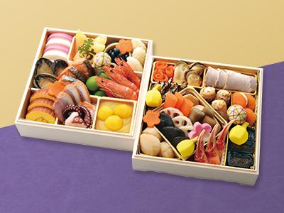 日本ばし大増 おせち料理【梅】のイメージ
