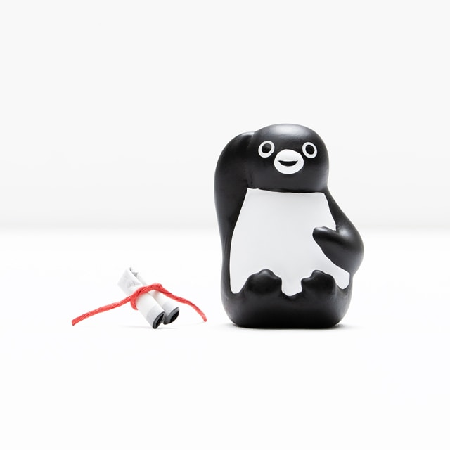 Suicaのペンギン みくじ笑顔
