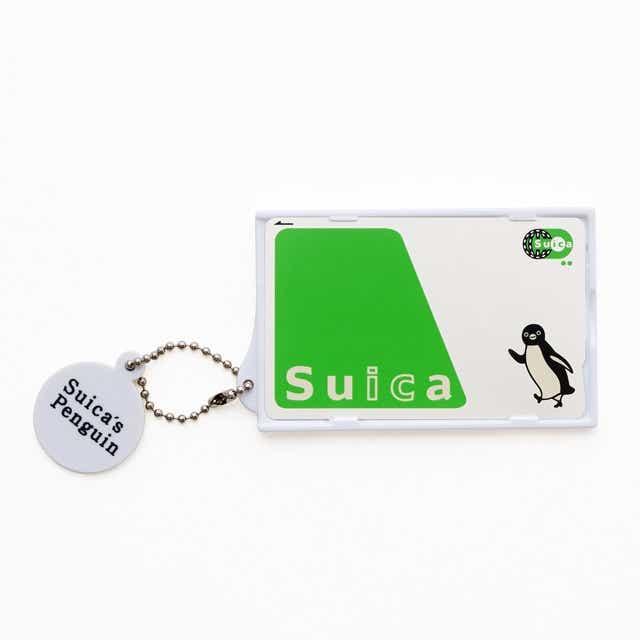 Suicaのペンギン カードケース(ペンギンとはやぶさ)