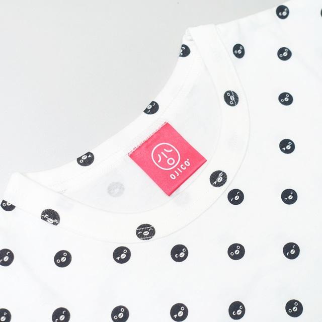 Suicaのペンギン Tシャツ ドット/シロ/8A