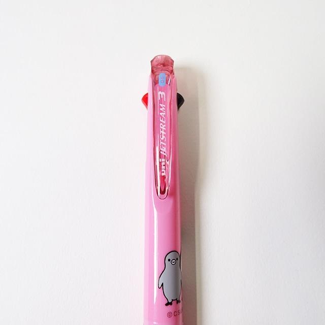 Suicaのペンギン3色ボールペン(ピンク)