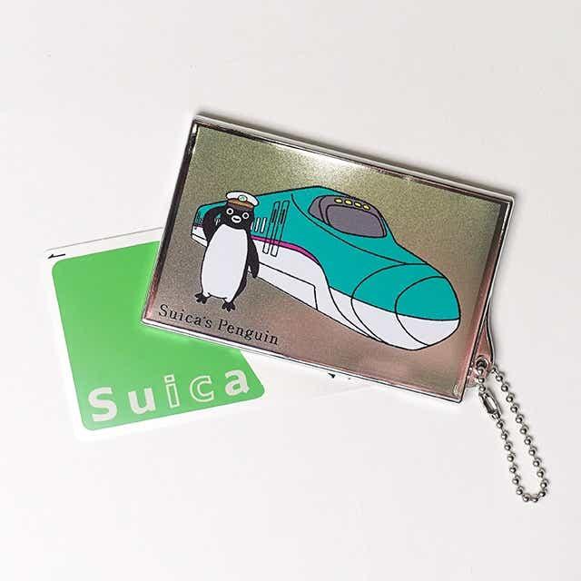 Suicaのペンギンカードケース 駅長E5
