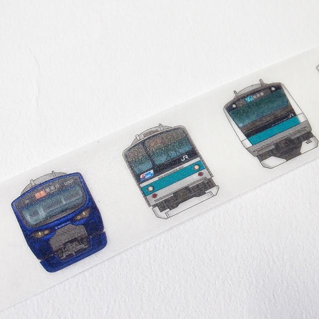 相鉄線×埼京線マスキングテープ電車の顔