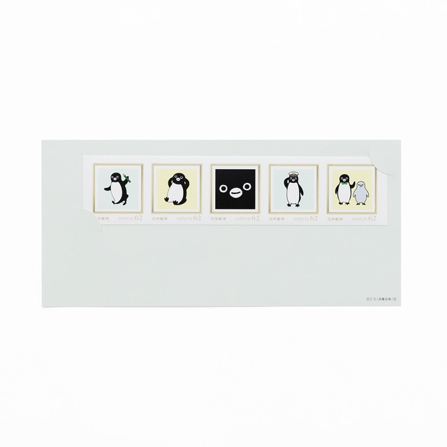 Suicaのペンギン フレーム切手セット(5枚入)
