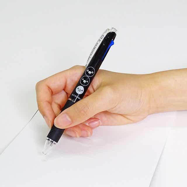 Suicaのペンギン3色ボールペン(黒)