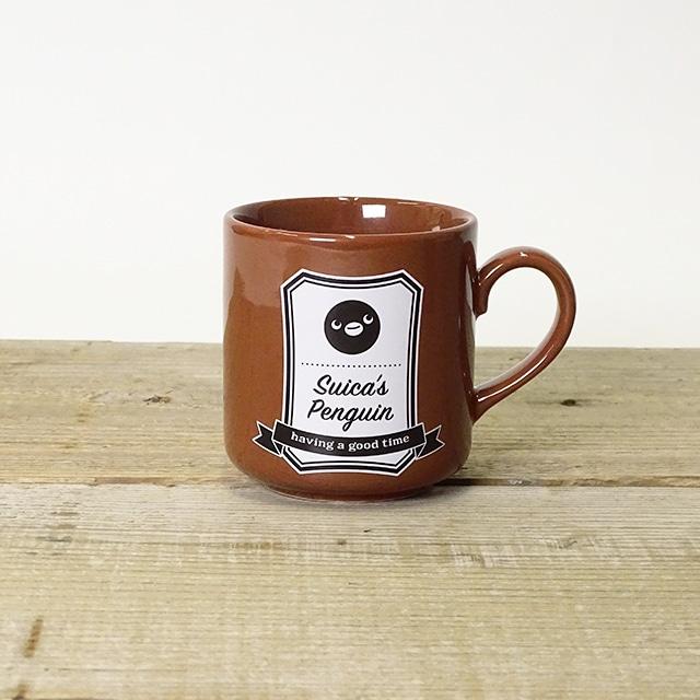 Suicaのペンギン ペアマグカップ(ラベル風)