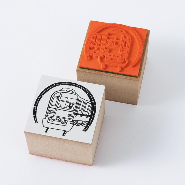 【TA】駅員さん おしごと ハンコ 運転手