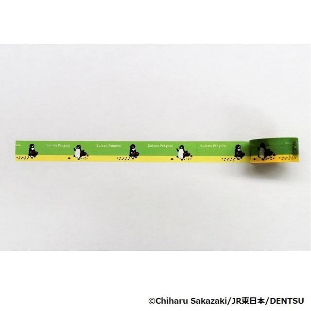 Suicaのペンギン マスキングテープお散歩