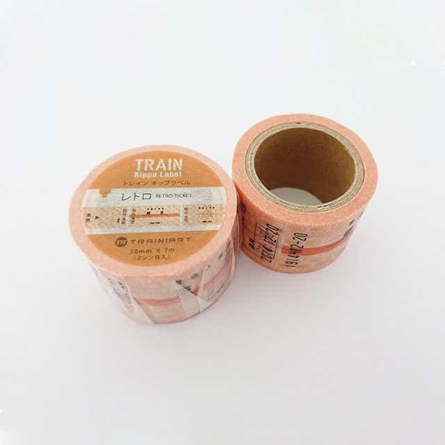 TRAIN Kippu Label  切符(レトロ)