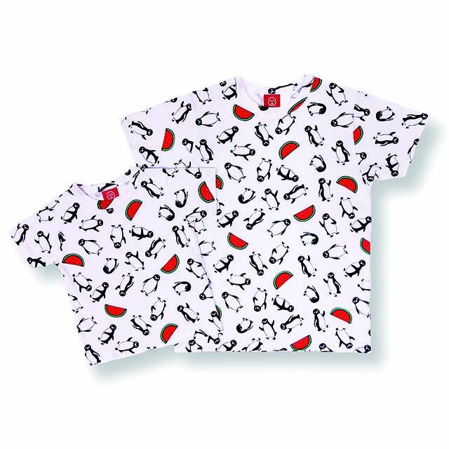 Suicaのペンギン Tシャツ スイカ/シロ/6A