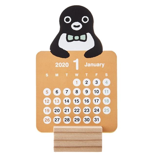 Suica's Penguinカラフルミニカレンダー2020