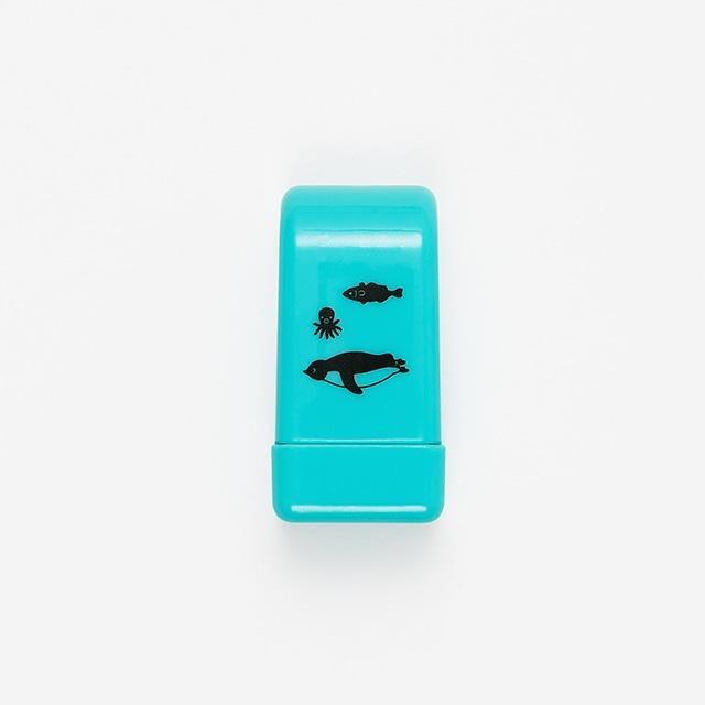 Suicaのペンギンコロコロハンコ(お魚)