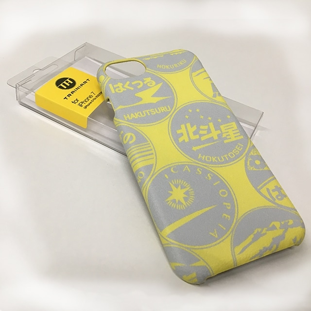 【TA】iPhone7ケース ヘッドマーク YELLOW