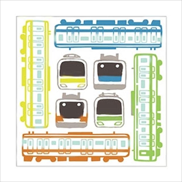【TA】TRAINIART×にじゆらガーゼハンカチ電車