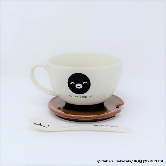 Suicaのペンギン マグカップ(フタ/スプーン付)