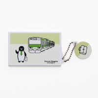 Suicaのペンギン カードケース(ペンギンと山手線)