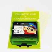 A4クリアファイル クレヨンしんちゃん×山手線