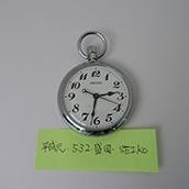 【古物】懐中時計(平元・532・JR盛岡・S)可動品