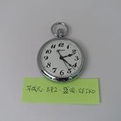 【古物】懐中時計(平元・582・JR盛岡・S)可動品