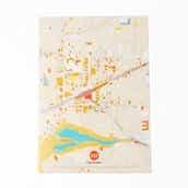 クリアファイル(吉祥寺の地図)