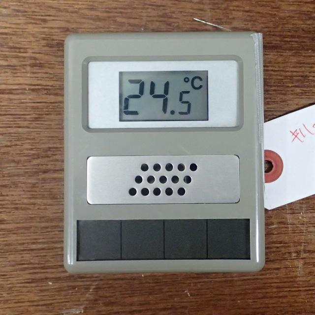 限定1個【古物】「Kenji」温度計【角型】