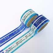相鉄線×埼京線マスキングテープ駅名標