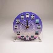 アクリル置時計(常磐線)