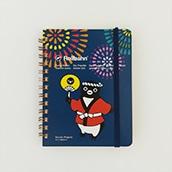 SuicaのペンギンロルバーンノートM祭り(花火)