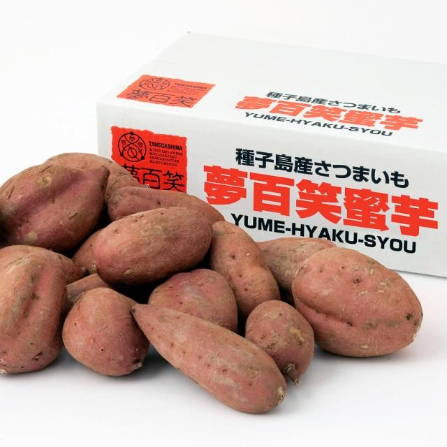 【今季販売終了】種子島「夢百笑」蜜芋3kg 送料無料