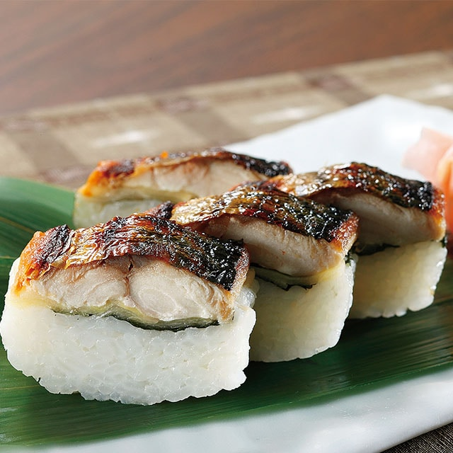【北陸編】元祖焼き鯖寿司3本 送料込