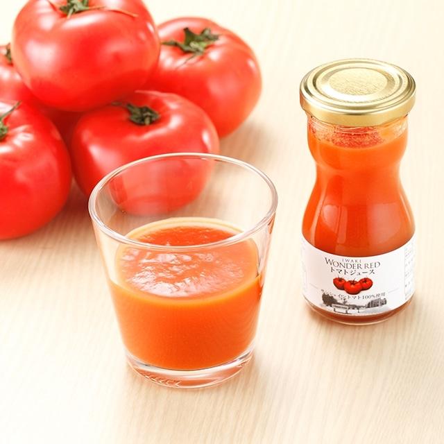ワンダーレッドトマトジュース(95g) 10本セット 送料無料<常磐>
