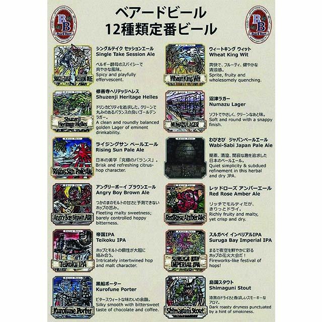 <静岡DC2020>【酒類】ベアードブルーイング おまかせ12本セット(限定入り) 送料無料