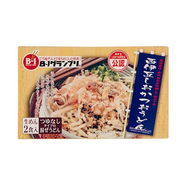 西伊豆しおかつおうどん(生めん)5箱セット 送料無料