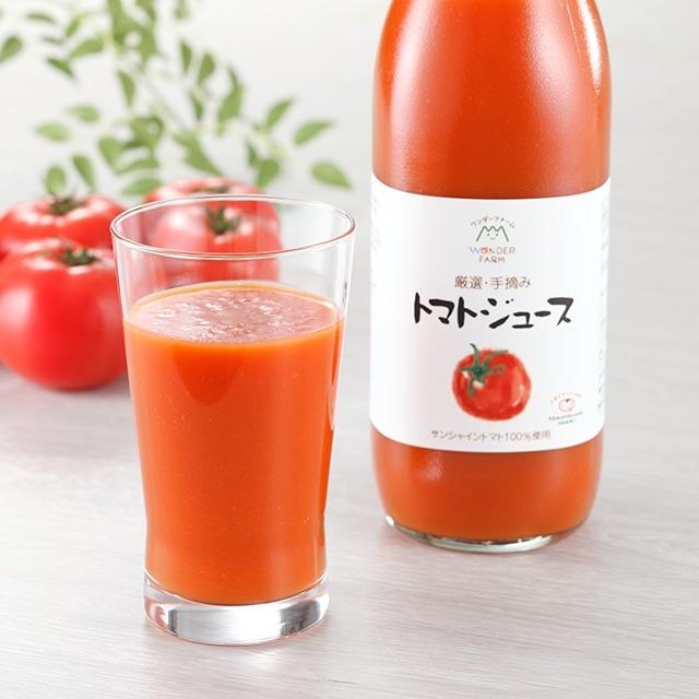 ワンダーレッドトマトジュース(1000g) 6本セット送料無料<常磐>