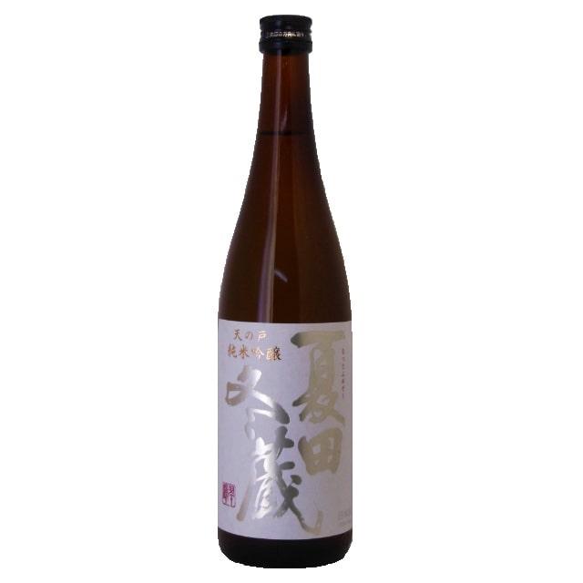 【酒類】浅舞酒蔵 純米吟醸 夏田冬蔵こま美 720ml 送料無料