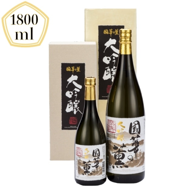 【酒類】岩手県 上閉伊酒造 国華の薫 大吟醸 1800ml 送料無料