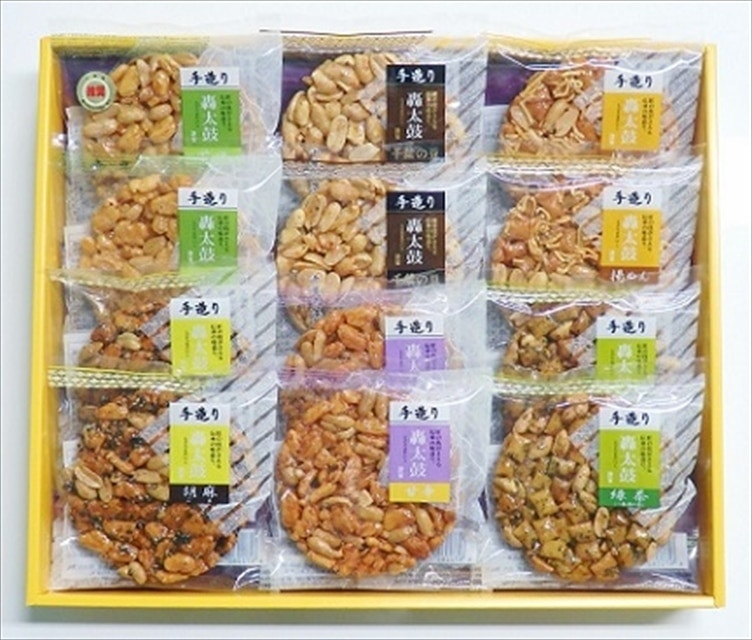 <お土産特集CP>太鼓6種12枚入り 送料無料