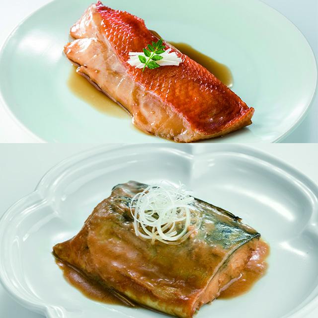 国産金目鯛と金華さばのことこと煮魚セット 送料込