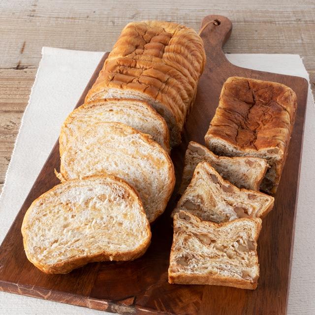 八ヶ岳ブレッド 八ヶ岳のメープルパン・黒糖くるみパンセット 送料込