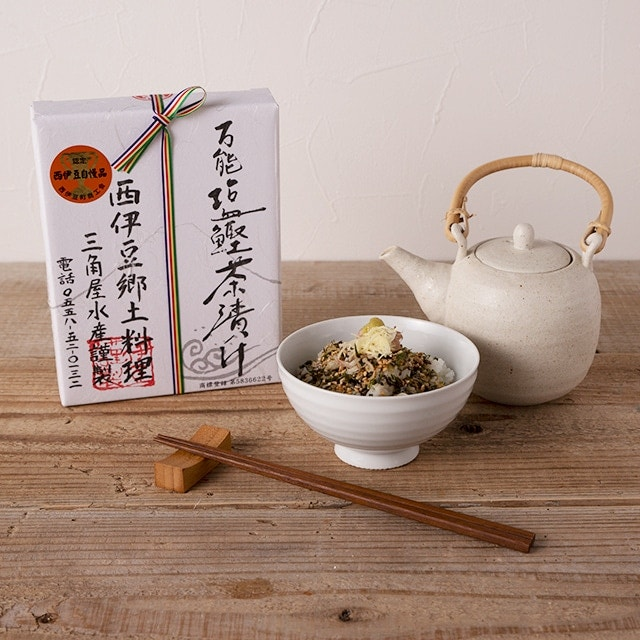 【静岡DC】万能塩鰹茶漬け2箱(ギフト箱) 送料込