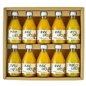 伊藤農園 ピュアジュース飲み比べセット180ml×10本 送料無料