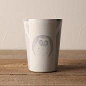 笠間焼 itoga pottery タンブラー (ふくろう)<常磐>