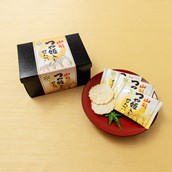 【JR東日本おみやげグランプリ2019】<山形県>つや姫せんべい2枚×16袋 送料込