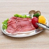 白金豚モモスライス焼肉用500g×2 焼肉用4〜5人前 送料無料