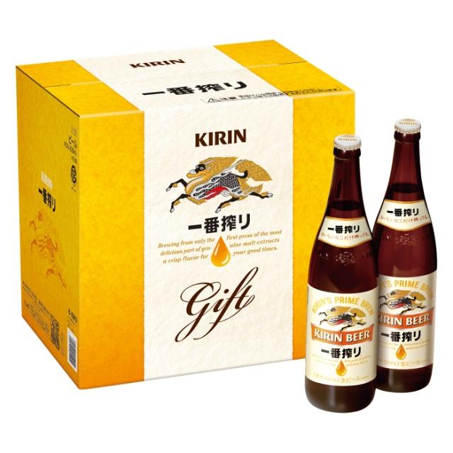 <2019冬ギフト>キリン一番搾り生ビール大びんセット K-ISB12