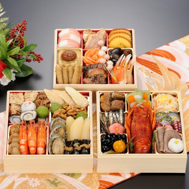<2020おせち>【12月30日お届け】京都野村 京のご馳走おせち三段重35品 送料込