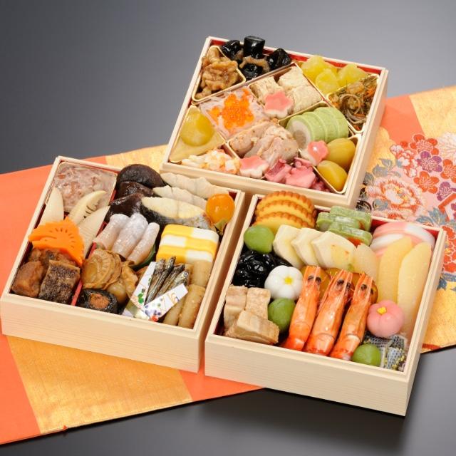 <2020おせち>【12月30日お届け】京都野村 平安三段重40品 送料込