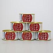 みがきにしん甘露煮6缶セット 送料無料
